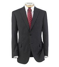 Traveler Tailored Fit 2-Button Suits Plain Front