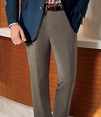 NEW Traveler Tailored Fit Pleated Front Trousers Extended Sizes