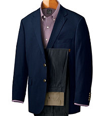 Executive 2-Button Wool Blazer
