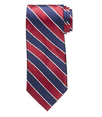 Signature Wide Stripe Tie
