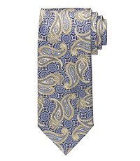 Signature Gold Paisley Medallion Tie