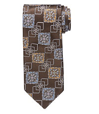 Signature Gold Large Ornate Connected Medallion Tie
