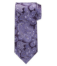 Signature Tonal Paisley Extra Long Tie