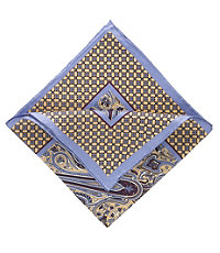 Diamond Border Pocket Square