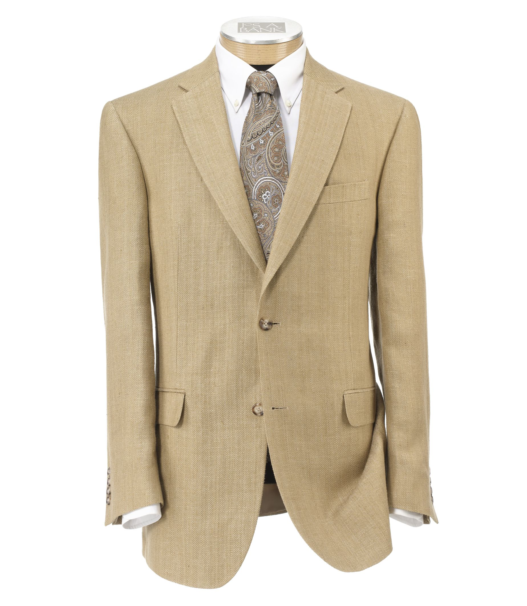 Tropical Blend 2-Button Linen/Silk Sportcoat which was $450 originally is now available at a sale price of $47
