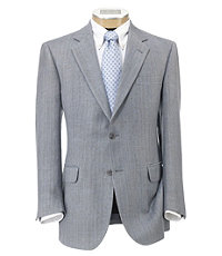 Tropical Blend 2-Button Linen/Silk Sportcoat Extended Sizes