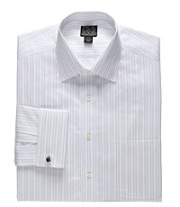 Signature Wrinkle-Free Spread Collar/French Cuff Dress Shirt