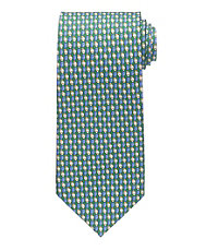 Conversational Patterned Footballs Tie