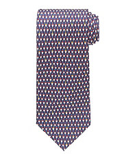 Conversational Patterned Fishing Lures Tie