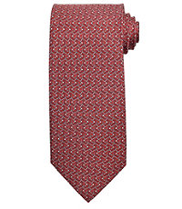 Conversational Patterned Lacrosse Sticks Tie