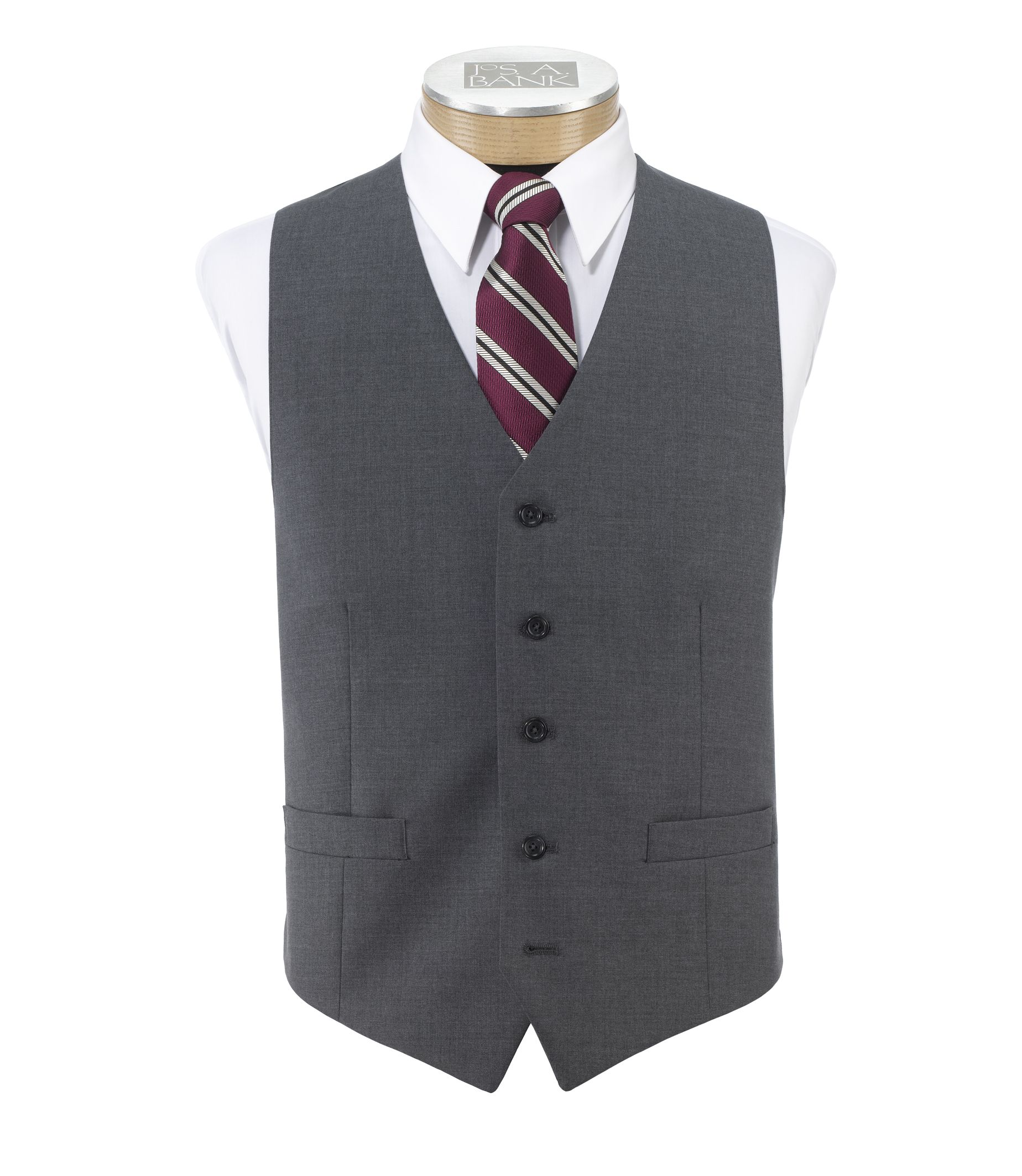 Jos a bank men 39 s factory classic suit seperates vest for Jos a bank shirt review