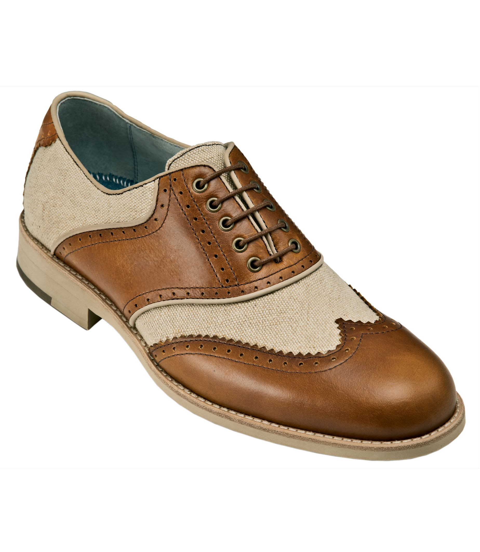 Ellington Brown Cream Great Gatsby Style Shoes