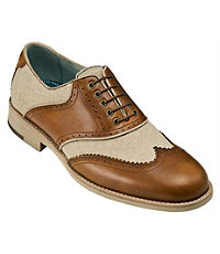 Ellington Wing Tip Shoe by Johnston and Murphy