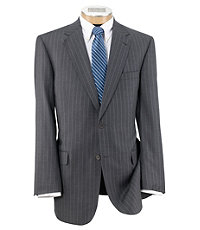 Signature Gold 2 Button Wool Suit with Pleated Front Trousers