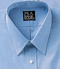Pinpoint Oxford Point Collar Dress Shirt