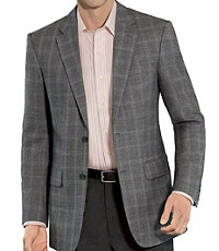 Traveler Tailored Fit 2-Button Sportcoat Extended Size