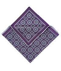 Large Medallion Pocket Squares