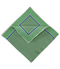 Square Block Neat Pocket Square