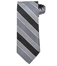 Signature Textured Multi Stripe Tie
