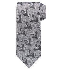 Signature Paisley on Textured Ground Tie
