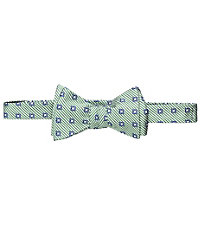 Executive Collection Seersucker Stripe Bow Tie