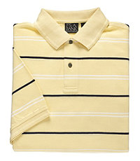 Traveler Multi Stripe Short Sleeve Polo