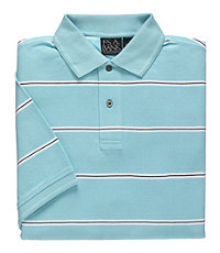 Traveler Tailored Fit Short Sleeve Patterned Polo