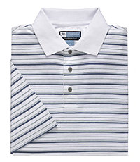 Leadbetter Stays Cool Multi Stripe Polo