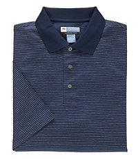 Leadbetter Stays Cool Mini Stripe Polo
