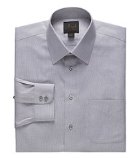 Joseph Spread Collar Cotton End on End Dress Shirt