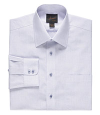 Joseph Spread Collar Cotton Check Dress Shirt