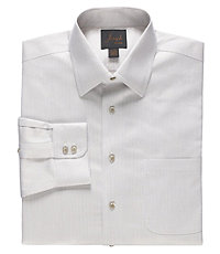 Joseph Spread Collar Cotton Stripe Dress Shirt