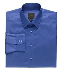 Joseph Spread Collar Slim Fit Tonal Stripe Dress Shirt