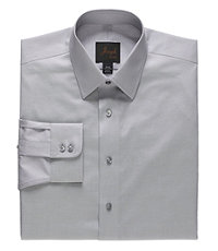 Joseph Spread Collar Slim Fit Chambray Dress Shirt
