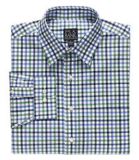 Traveler Patterned Point Collar Sportshirt