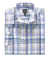 Traveler Long-Sleeve Point Collar Sportshirt