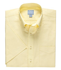 Stays Cool Short Sleeve Chambray Sportshirt