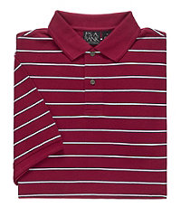 Traveler Short Sleeve Stripe Polo