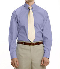 Pinpoint Oxford Spread Collar Dress Shirt Big or Tall