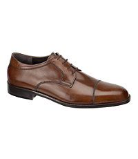 Emmert Cap Toe Shoe by Johnston & Murphy