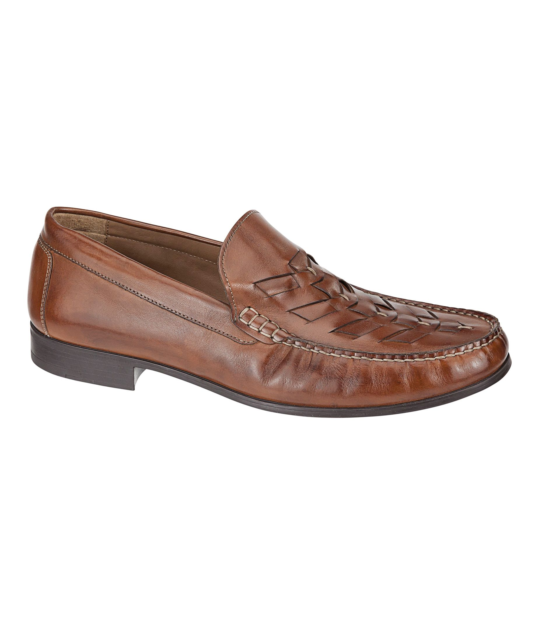 Cresswell Woven Venetian Shoe by Johnston & Murphy