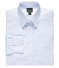 Traveler Multi Stripe Point Collar Dress Shirt Big or Tall