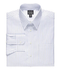 Traveler Stripe Point Collar Dress Shirt Big or Tall
