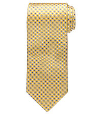 Executive Small Square on Text Tie