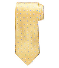 "Executive Textured Square 61"" Long Tie"