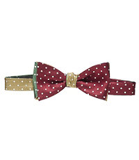 Executive Collection 4 Color Dot Bow Tie