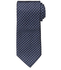 Joseph Narrower Textured Double Stripe Tie Long Length