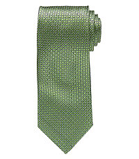 Joseph Narrower Small Satin Basketweave Tie Long Length