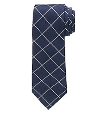 Joseph Narrower Oxford Grid Tie