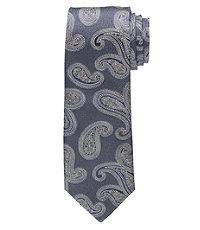 Joseph Narrower Metallic Paisley Tie